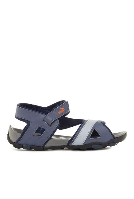 Puma Gadwall DP Peacoat & Folkstone Grey Floater Sandals