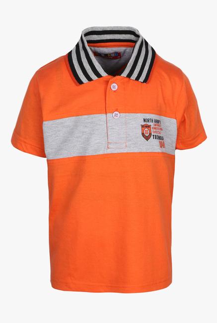 62a01290f Buy Haig-Dot Coral Printed Polo T Shirt for Boys Clothing Online @ Tata CLiQ