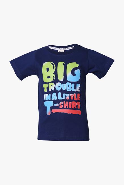 6b5358957c Buy Tales & Stories Navy Graphic Print T Shirt for Infant Boys Clothing  Online @ Tata CLiQ