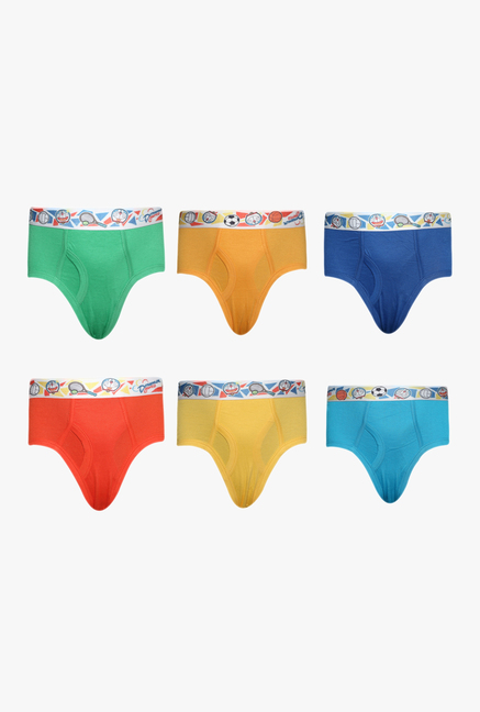 3b9816d365a1 Buy Red Rose Multicolor Printed Briefs (Pack Of 6) for Boys Clothing Online  @ Tata CLiQ