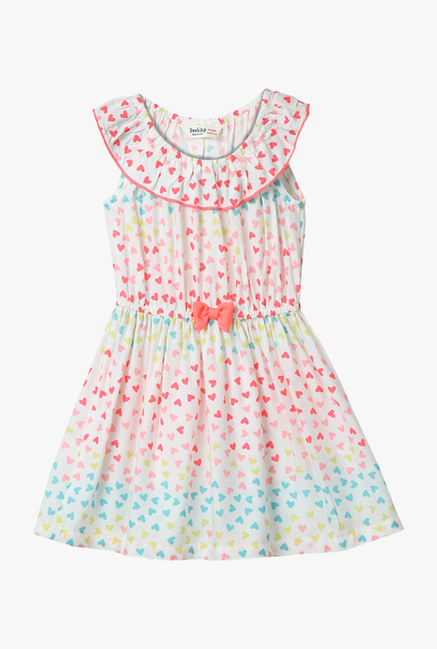 e3dc6274e9e3a Buy Beebay Multicolor Printed Dress for Infant Girls Online @ Tata CLiQ
