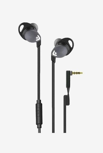 Envent Beatz 302 With Mic Wired Earphones  Grey