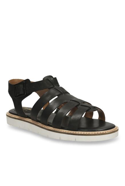 341edac9e2b5 Buy Clarks Lydie Kona Black Fisherman Sandals for Women at Best ...