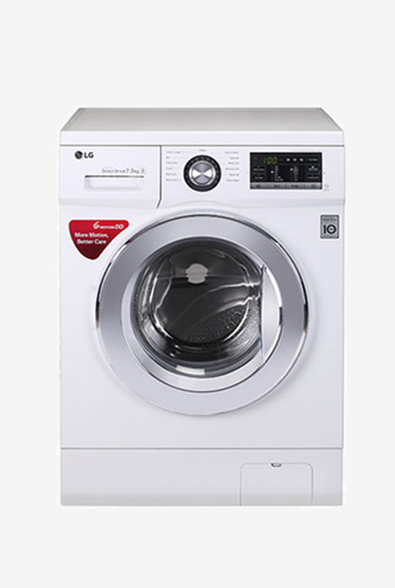 LG FH2G6EDNL22 7.5 Kg Front Load Washing Machine (White)