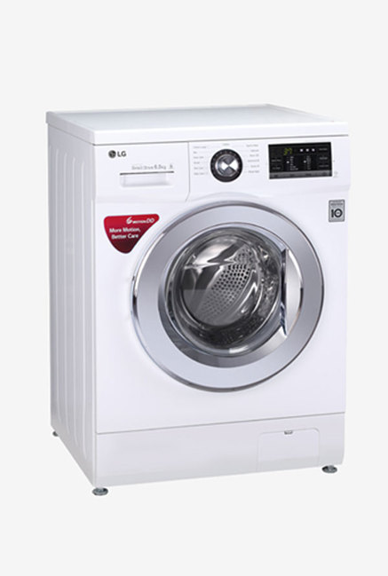 LG FH0G6WDNL22 6.5 Kg Front Load Washing Machine (White)