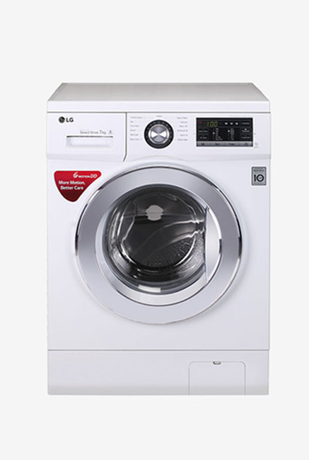 LG FH2G6HDNL22 7 Kg Front Load Washing Machine (White)
