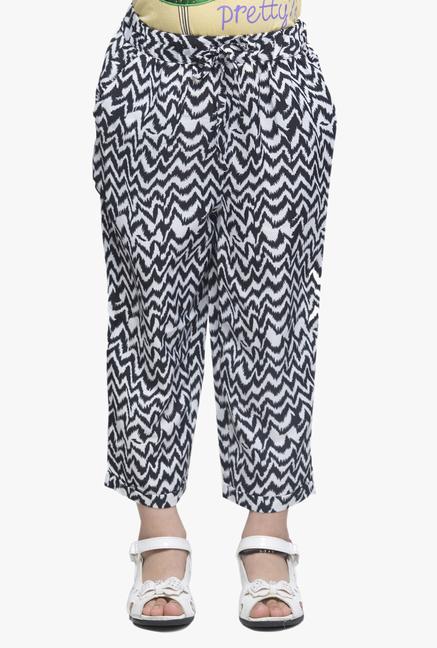 Oxolloxo Kids Black Printed Pants