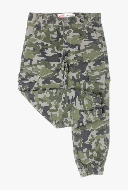 14f7572a Buy Levi's Olive Printed Trousers for Boys Clothing Online @ Tata CLiQ