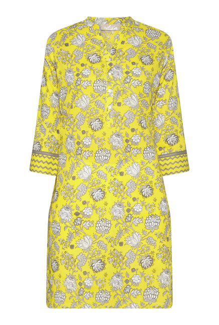 Utsa by Westside Yellow Floral Printed Kurta