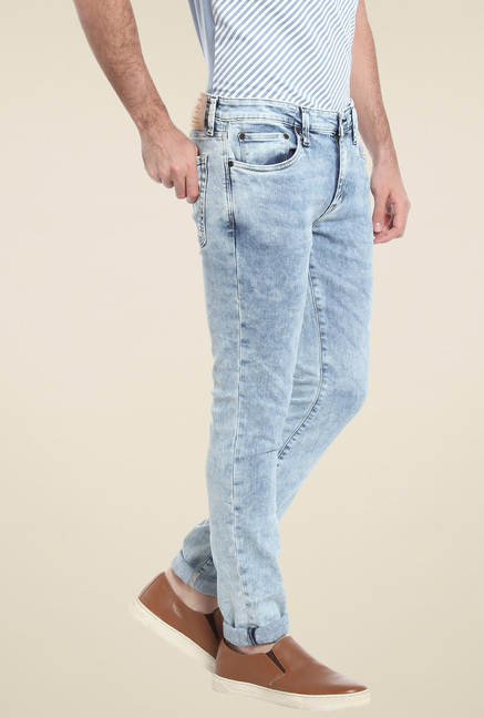 Jack & Jones Light Blue Skinny Fit Jeans