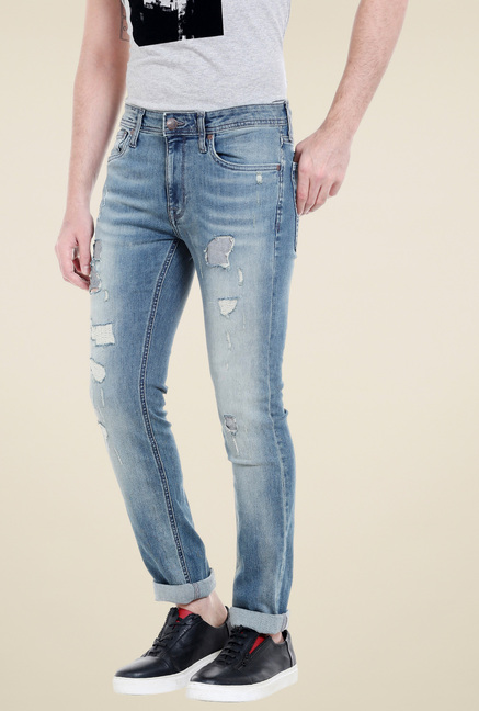 Jack & Jones Dark Blue Slim Fit Jeans