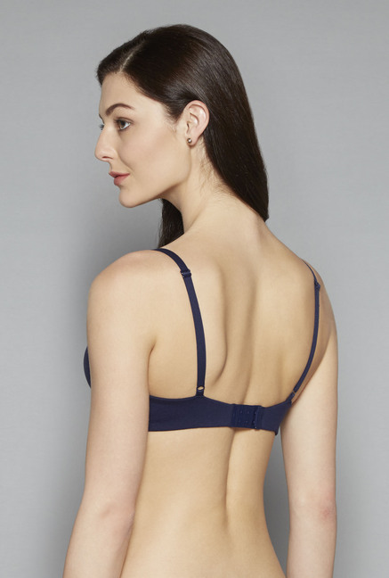 Wunderlove by Westside Navy Willow Moulded Bra