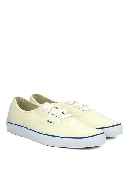 d403416b9e Buy Vans Authentic Cream Sneakers for Men at Best Price   Tata CLiQ