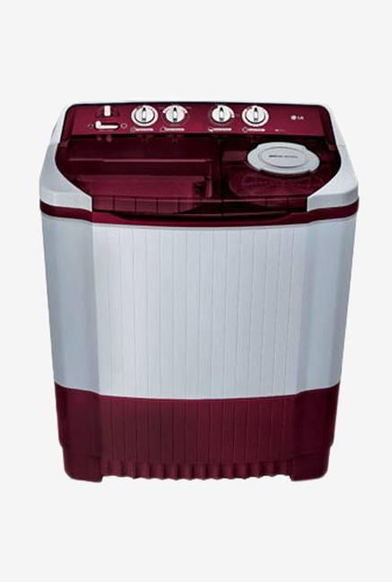 LG P8053R3SA 7 Kg Semi Automatic Washing Machine (Burgundy)