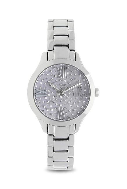 Titan 95027SM02J Analog Watch for Women