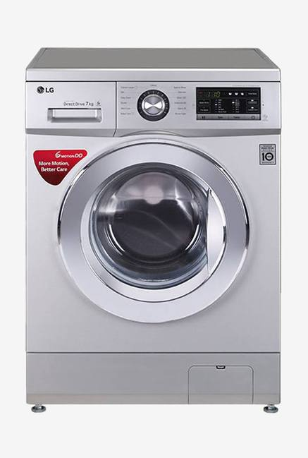 LG FH0G6QDNL42 7 Kg Fully Automatic Washing Machine (Silver)
