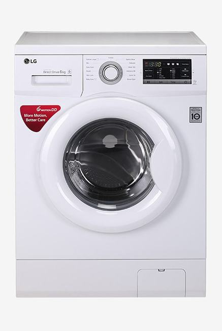 LG FH0G7NDNL02 6 Kg Fully Automatic Washing Machine (White)