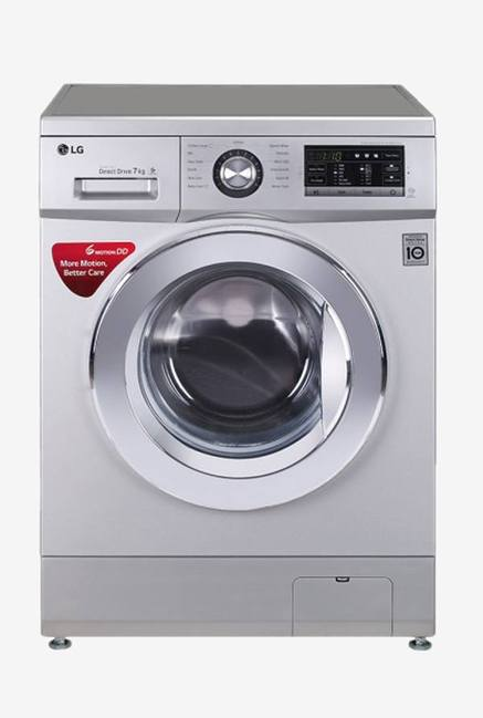 LG FH2G6HDNL42 7 KG Fully Automatic Front Loading Washing Machine Silver