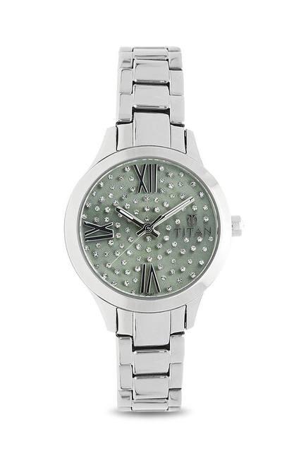 Titan 95027SM03J Analog Watch for Women