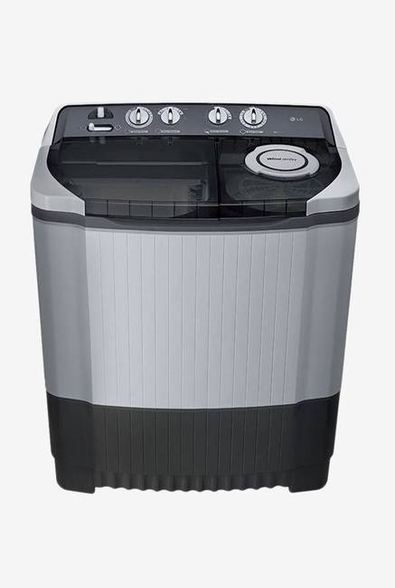 LG 8Kg Semi Automatic Top Loading Washing Machine Dark Grey (P9039R3SM, Dark Grey)