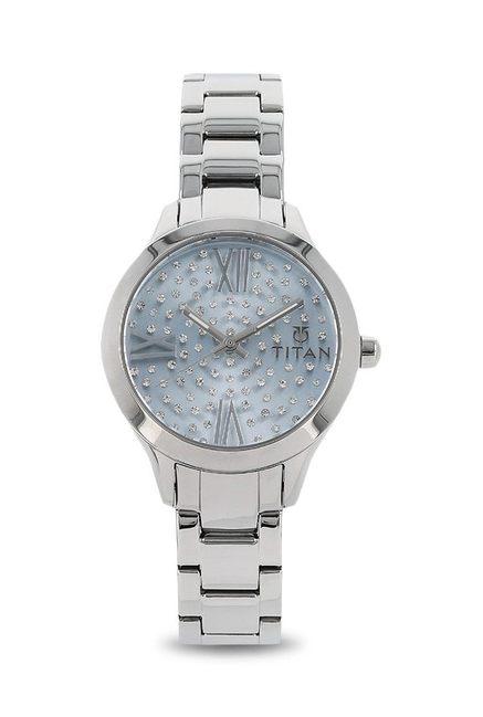 Titan 95027SM01J Analog Watch for Women