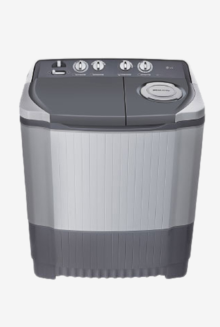 LG P7550R3FA 6.5Kg Semi Automatic Washing Machine(Dark Gray)