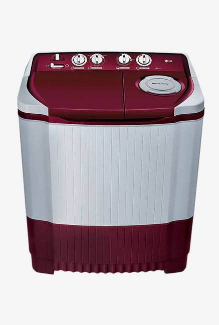 LG P8073R3FA 7 KG Top Load Semi Automatic Washing Machine, Burgandy