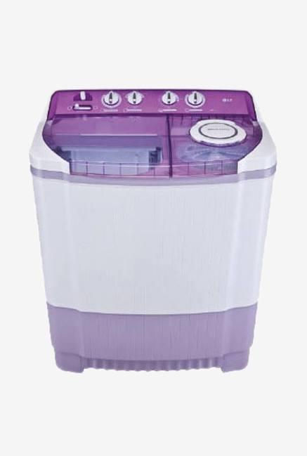 LG P8537R3SA 7.5 KG Semi Automatic Top Load Washing Machine Burgundy