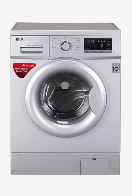 LG FH0G7QDNL52 7 Kg Fully Automatic Washing Machine (Silver)