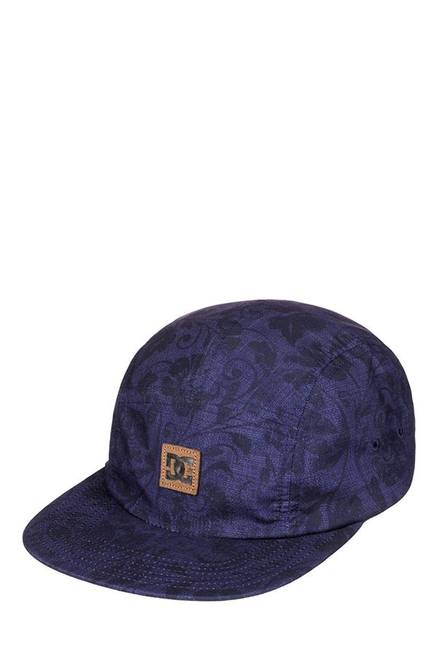 1d3f0cd496a Buy DC Stover Blue   Black Printed Polyester Baseball Cap For Men ...