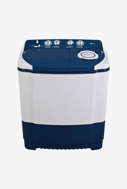 LG 7Kg Top Load Semi Automatic Washing Machine White Blue (P8071N3FA, White & Blue)