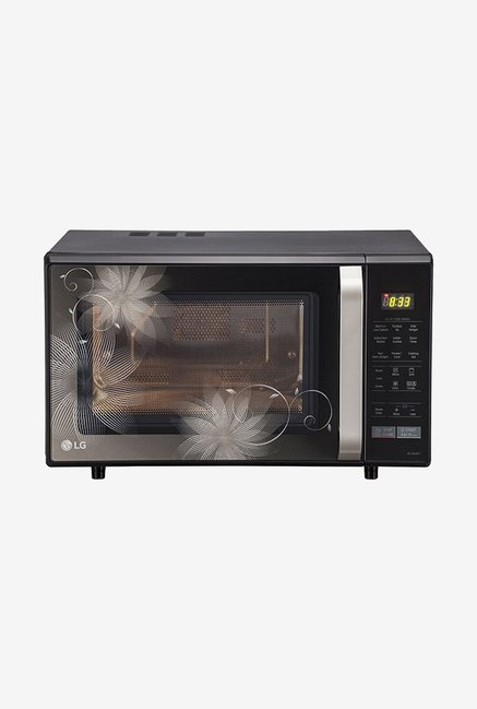 LG MC2846BCT 28 L Convection Microwave Oven (Black)