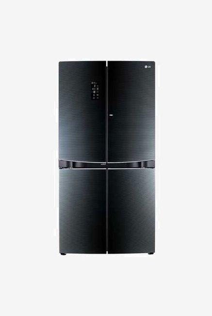 LG GR-D35FBGHL 3 Star 1001 L Refrigerator (Luminous Black)