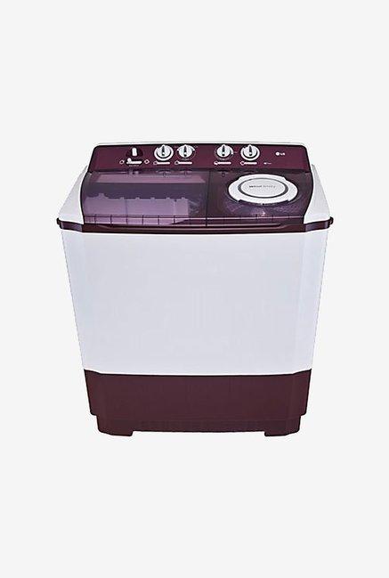 LG P1515R3SA 9.5 kg Washing Machine (Burgundy)