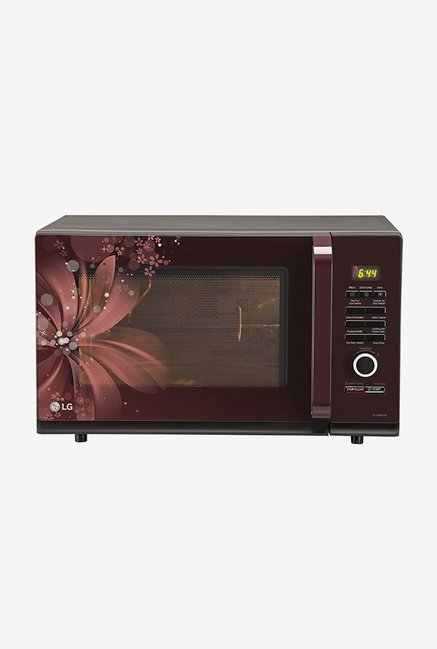LG MC3286BRUM 32 L Convection Microwave Oven (Maroon)