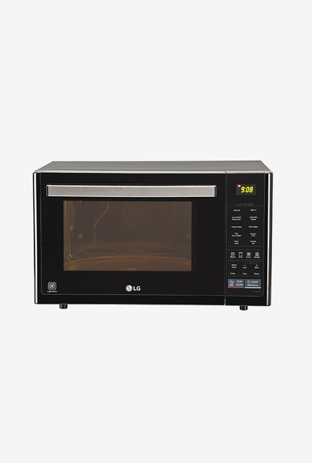 LG MJ3296BFT 32 L Convection Microwave Oven (Black)