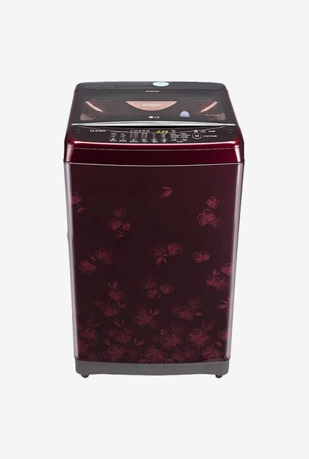 LG T8577TEELX 7.5 KG Fully Automatic Washing Machine Dark Red
