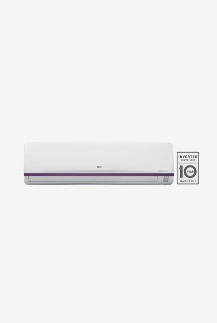 LG JS Q12BPXA 1 Ton 3 Star  BEE Rating 2017  Smart Inverter Split AC  White