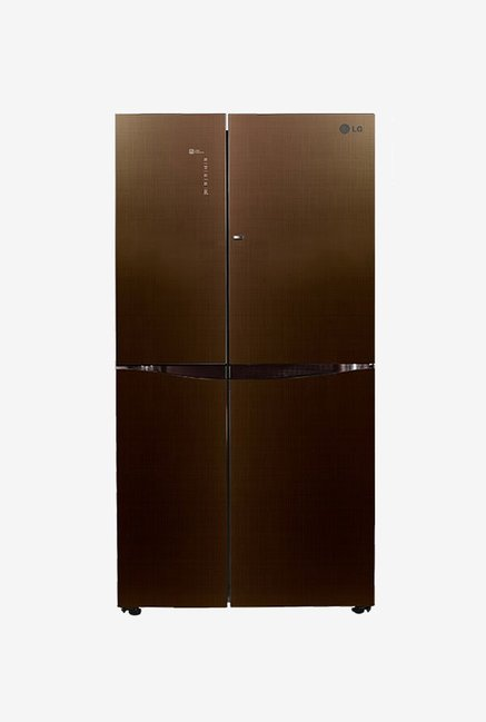 LG GC-M247UGLN 679 L Frost Free Refrigerator (Linen Brown)