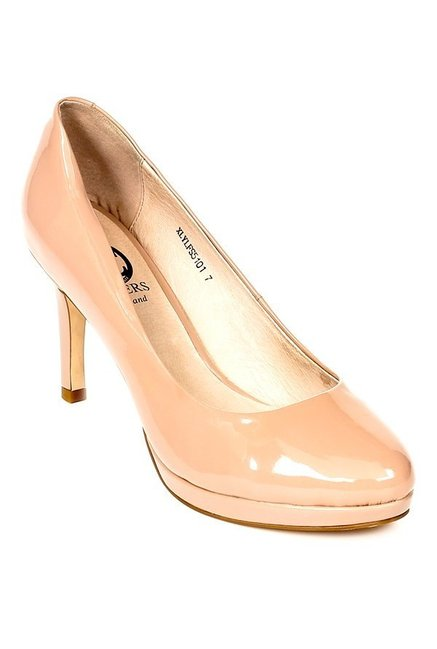 a009d2247e34 Buy Pavers England Nude Stiletto Heeled Pumps for Women at Best ...