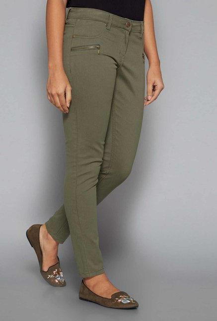 LOV by Westside Olive Anoushka Trousers