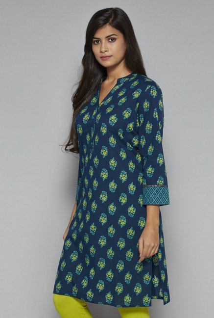 Utsa by Westside Navy Kurta