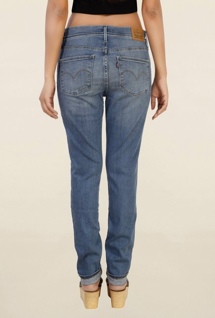 Levi's 311 Blue Skinny Fit Lightly Washed Jeans