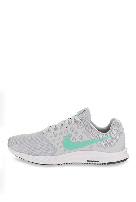 98d9c8832e26 Buy Nike Downshifter 7 Grey Running Shoes for Women at Best Price ...