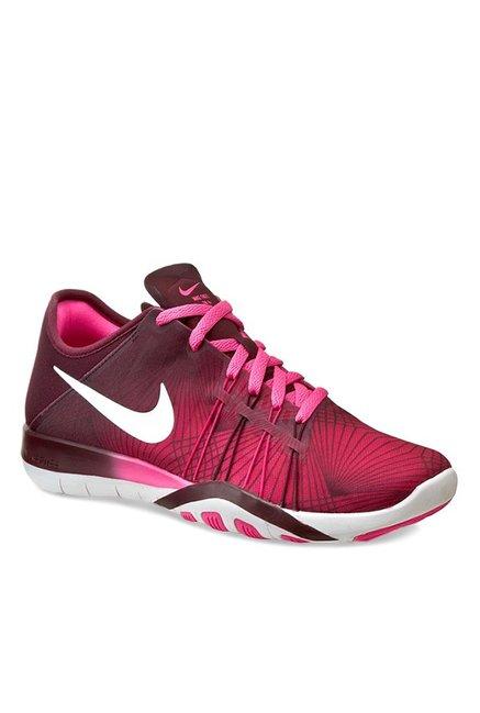 sports shoes e247f 73fb2 Nike Free TR 6 PRT Pink Running Shoes