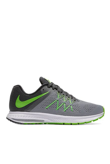 1f6fee5dba3e ... mens 65908 de050 get nike zoom winflo 3 grey black running shoes 8d740  c5ff7 ...