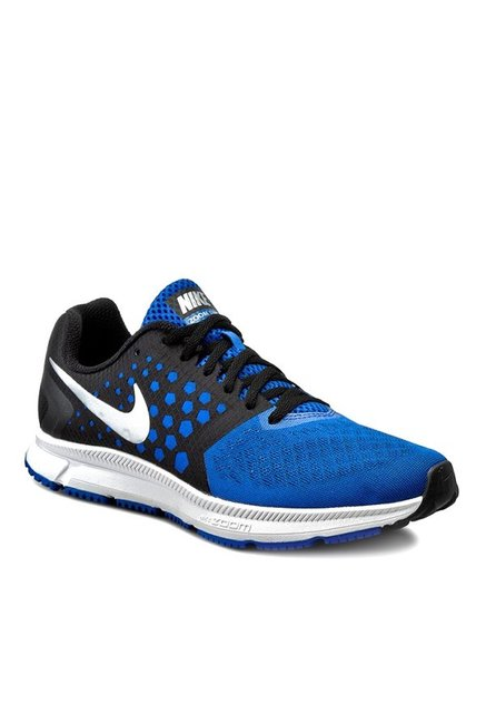 9c9c999939571 Buy Nike Zoom Span Blue   Black Running Shoes for Men at Best Price   Tata  CLiQ