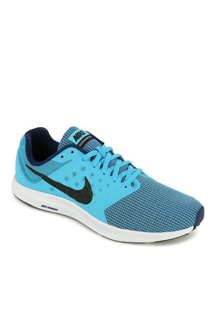 bbd78da28290 Buy Nike Downshifter 7 Sky Blue Running Shoes for Men at Best Price   Tata  CLiQ