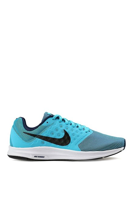 0488aa71eef96 Buy Nike Downshifter 7 Sky Blue Running Shoes for Men at Best Price ...