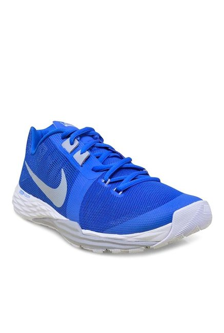 ac1a4f9b63ffe Buy Nike Prime Iron DF Blue Training Shoes for Men at Best Price   Tata CLiQ